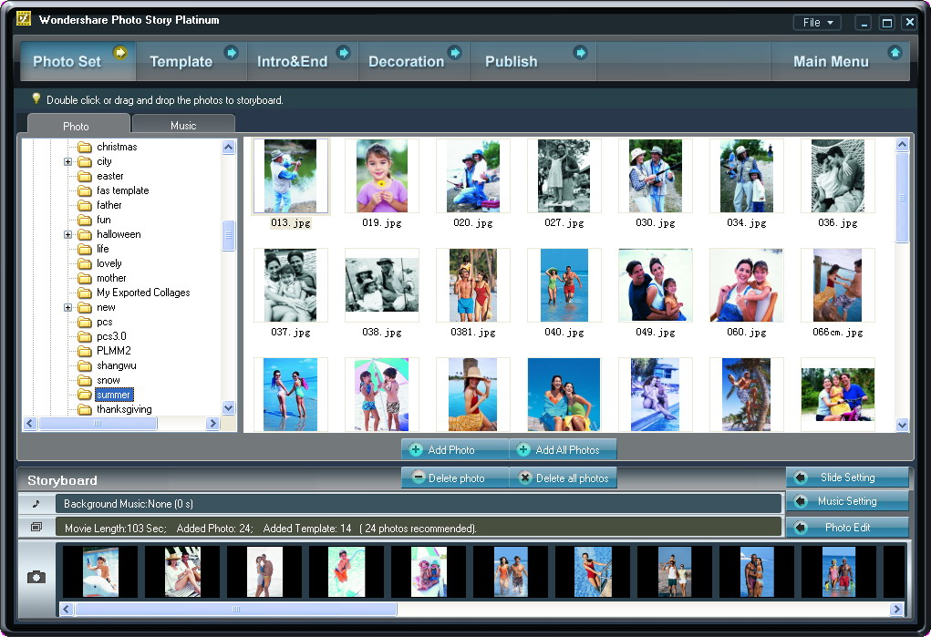 download wondershare photo story platinum full version free