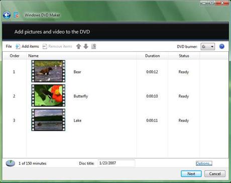 Load Video into Windows Movie Maker