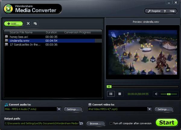 convert DRM itunes music